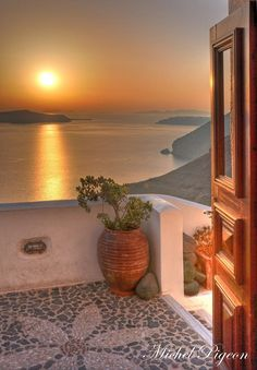 sunset in Santorini by Michel Pigeon on 500px