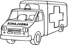 Ambulance Car Coloring Pages See the category to find more printable coloring sheets. Also, you could use the search box to find what you want. Preschool Coloring Pages, Truck Coloring Pages, Coloring Pages To Print, Free Printable Coloring Pages, Coloring For Kids, Coloring Pages For Kids, Coloring Books, Colouring Sheets, Ambulance Lego