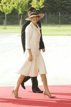 Mary Elizabeth Donaldson, princesse héritière de Danemark, comtesse de Monpezat & Prince Frederik de Danemark, comte de Monpezat