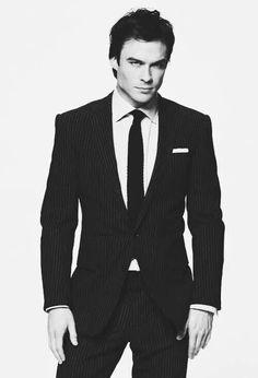 Ian Somerhalder .... Suit & Tie sexy just like J.T.!!!