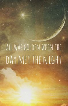 when the day met the night // panic! at the disco