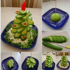 Salataliktan yılbaşı ağacı :)
