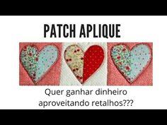 Como fazer Patch Aplique de forma fácil - passo a passo - Patchwork descomplicado com Bia Abdalla - YouTube Quilting, Video Tutorials, Youtube, Applique, Patches, Sewing Ideas, Floral Bags, Centre, Needlepoint