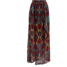 ALICE & OLIVIA Miabella Wrap Maxi Skirt ($368) ❤ liked on Polyvore featuring skirts, bottoms, saias, maxi skirts, multi, boho skirt, long boho skirts, tribal maxi skirt, alice olivia skirt and boho maxi skirt