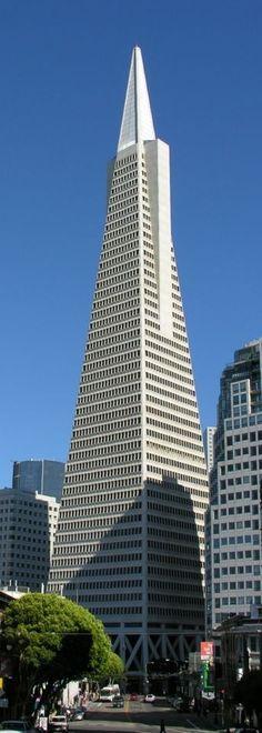 Transamerica Building, San Francisco, California. #Travel #San_Francisco @travelfoxcom