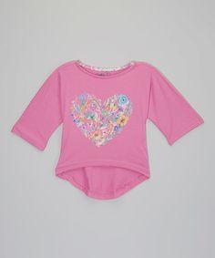 Look what I found on #zulily! Plum Heart Chelsea Organic Top - Toddler & Girls #zulilyfinds