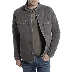 """Light weight diamond-quilted jacket with pocket detail.       Famous Words of Inspiration...""""God is not proud...He will have us even though we have shown that we prefer everything else to Him.""""   C.S. Lewis — Click here for more from C.S....  More details at https://jackets-lovers.bestselleroutlets.com/mens-jackets-coats/lightweight-jackets/varsity-jackets/product-review-for-tregene-mens-light-weight-quilted-xavier-jack"""