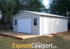 Now is the best time to get started on your garage! Let us help guide you through the process! Get the building you need at an affordable price! Contact us today! - March 10 2019 at Metal Shop Building, Building A Shed, Building Ideas, Building Plans, Shop Buildings, Steel Buildings, Wood Storage Sheds, Garage Storage, Garage Organization