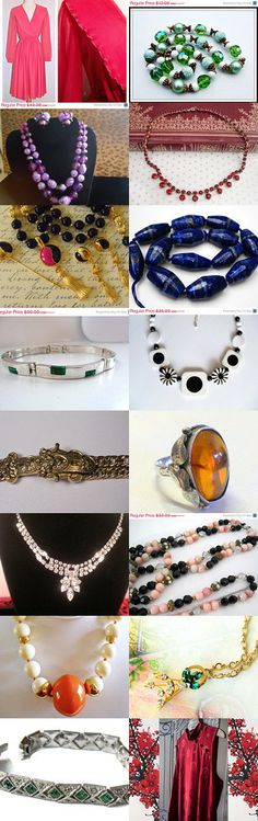Beauties from Teamlove by Donna on Etsy--Pinned with TreasuryPin.com
