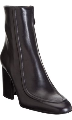 Jil Sander Apron Toe Knee Boot