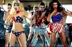 """After escaping jail and poisoning the patrons of a pancake house, Beyonce and Lady Gaga celebrate how? By coordinating a synchronized dance in American Flags, thanks to Jonas Ackerland'™s """"Telephone"""" music video."""