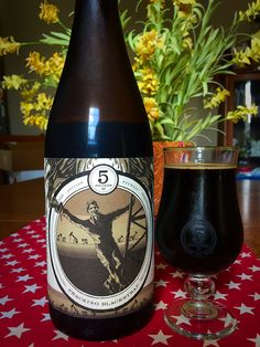 5 Stones Artisan Brewery: Fracking Strap | Imperial Stout handcrafted with Blackstrap Molasses, Cocao Nibs and Vanilla Beans