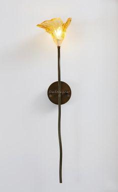 【Lightingest】Zen Chinese style Withered lotus Coloured glaze wall lamp 【最灯饰】5月新品禅意新中式枯荷设计师样板房客厅餐厅茶室壁灯