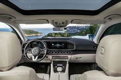 Mercedes-Benz introduced a flurry of models at the 2019 New York Auto Show. The biggest introduction in terms of mass and volume is the second-generation GLS, a seven-seater family-hauler presented as the S-Class of the SUV family. Mercedes Benz Suv, Mercedes Benz India, Mercedes Benz Interior, Mercedes Benz Gl Class, Bmw X7, Volvo Xc90, Luxury Suv, 4x4 Trucks, Four Wheel Drive