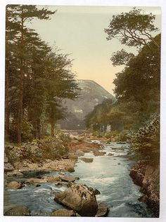 View in East Lyn with Lynton, Lynton and Lynmouth, England