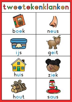 Learn Dutch, Paper Crafts For Kids, Dyslexia, Spelling, Worksheets, Teaching, Comics, Logos, Fictional Characters