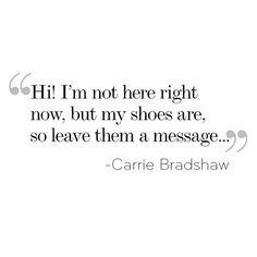 Carrie Bradshaw <3