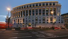 Unilever House was built at Blackfriars in on the site of DeKeyser's Royal Hotel which had been taken over by Lever Brothers in Hidden London, New River, Louvre, Street View, England, Mansions, Fine Art, Park, Architecture