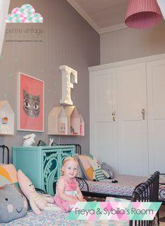Decopedia: Habitacion infantil con un toque vintage. Un espacio divertido para Sybilla