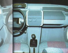 OG | 1990 Renault Clio MK1 - Project X57 | Dashboard design proposal dated Feb.-May 1986