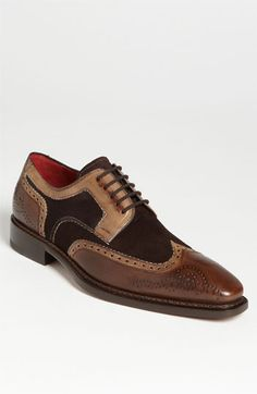 Mezlan 'Barbate' Wingtip Oxford available at #Nordstrom WOW These are a must have!!