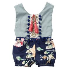 Blaire Baby Romper / Baby Girl Romper / Modern Baby / Baby Shower Gift / Trendy Baby / Newborn Girl Outfit / Baby One Piece / Infant Romper / Harem / Baby Girl / Hipster Baby / Vintage Baby #babyclotheshipster #babygirloutfits