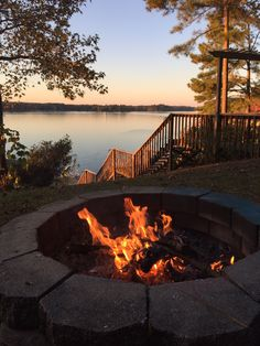 Fire and Water on Lake Sinclair. Doesn't get much better.