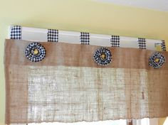 like this Burlap Window Treatments, Black Plaid, Valance, Bows, Handmade Gifts, Etsy, Home Decor, Blinds, Arches