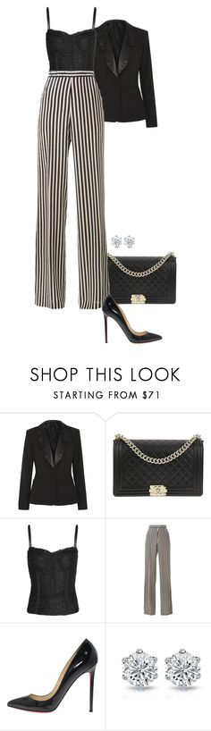"""""""Saved."""" by foreverforbiddenromancefashion ❤ liked on Polyvore featuring Altuzarra, Chanel, Dolce&Gabbana, Etro and Christian Louboutin"""