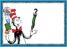 Cool FREE Printable dr.Seuss - Cat in the Hat Invitation Template ...