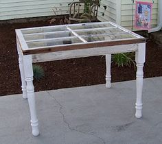 window table ~SOOOOO want to make this!!!!!!!