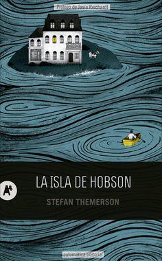 La isla de Hobson (Hobson´s Island) Book Cover by natalia zaratiegui,