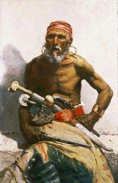 Mariano Fortuny, Spanish, 1838-1874 - Arab Chief