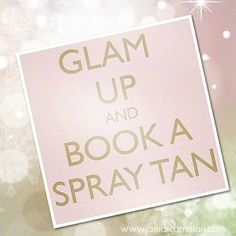 Glam up this holiday season with Jamaica Me Tan sunless tanning solution!! #spraytan #sunlesstan #jamaicametanusa www.jamaicametan.com/360.441.2044