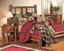 Rustic Bedroom Furniture, Log Beds and Hickory Beds | Black Forest Décor