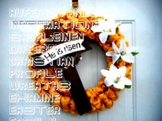 #auferstandenen #informations #sackleinen #different #christian #profile #wreaths #examine #easter #easily #ostern #yellow #burlap #wreath #dekorEaster wreath Easter burlap wreath yellow Easter wreath cross wreath cross decor ...-Easter wreath Easter burlap wreath yellow Easter wreath cross wreath cross decor Christian wreath Lilly wreath he is risen wreath RTS – Easter wreaths –  Informations About Ostern Kranz Ostern Sackleinen Kranz gelb Ostern Kranz Kreuz Kranz Kreuz Dekor C… Pin You can… Cross Wreath, Crosses Decor, He Is Risen, Easter Wreaths, Burlap Wreath, Profile, Christian, Halloween, Yellow