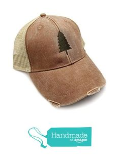 Trucker Hat - Wilderness Area - Adjustable Men's/Unisex Distressed Trucker Hat - 2 Color Options Available from Crawlspace Studios https://smile.amazon.com/dp/B01JVI63I4/ref=hnd_sw_r_pi_dp_WZ3fybV4WWCSY #handmadeatamazon