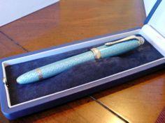 New Michel Perchin Fabergé Blue Ice Limited Edition Fountain Pen | eBay