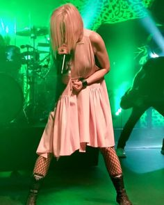 Shirley Manson and Garbage performing at Detroit City on Saturday 16th July 2016