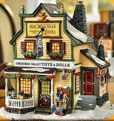 Christmas Valley Toys & Dolls New England Village