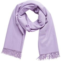 Pre-owned Loro Piana Cashmere Fringe Scarf ($145) ❤ liked on Polyvore featuring accessories, scarves, purple, cashmere scarves, cashmere shawl, loro piana, fringed shawls and loro piana scarves