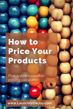 If you are looking for the simplest formula on how to price your products, check out these tips and strategies for handmade products, Etsy sellers and more.