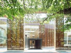Musashino Art Museum & Library - The Bookshelf Library - in Tokyo by Sou Fujimoto