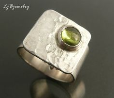 P1090298, via Flickr. Little peridot by LjBjewelry