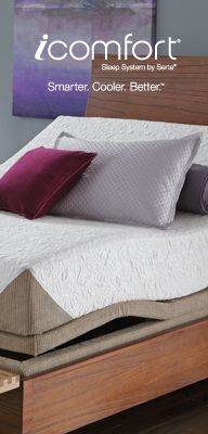The iComfort Sleep System by Serta
