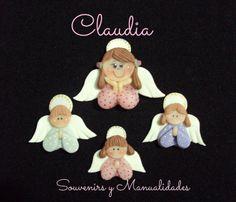 Apliques angelitos en diferentes tamaños y modelos .-