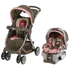 Free For All Baby Girl Stroller Car Seat Combo Question