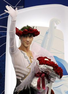 Johnny Weir at the 2010 Winter Olympics in Vancouver