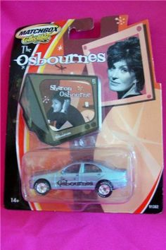Matchbox Collectibles The Osbournes Sharon Osbourn by Matchbox. $4.90. Sharon Osbourne Mercedes. Matchbox Collectibles The Osbournes. TV's most outrageous comedy is now the most talked about die-cast collection. Get these Matchbox models today ... show the world you can't stop laughing at Ozzy, Sharon, Kelly and Jack.