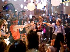 Take Me Home Tonight- love the dance battle scene with the guy from Step Up...he is hilarious Booioyee!! Lol
